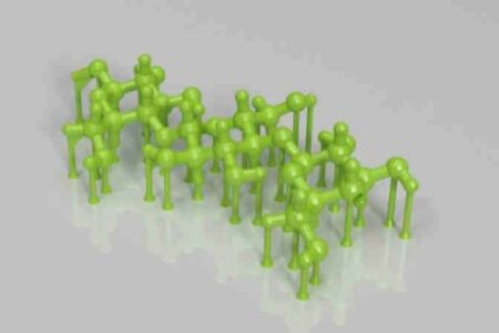 Fiber molecular chain