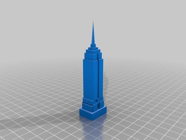 Empire state building seetheworld free 3d printer models